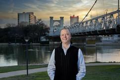 Waco Businessman Environmental Portrait