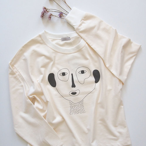ABSTRACT FACE sweatshirt
