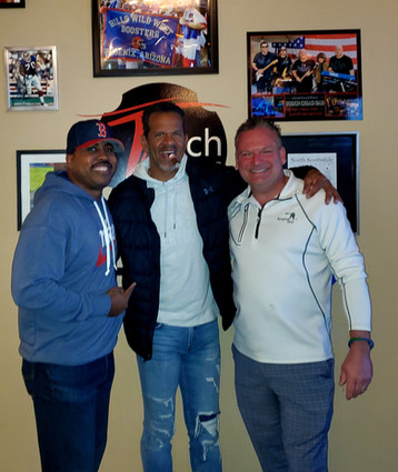 Drinks and Cigars with HOF Andre Reed and Torch Owner Jon Harrington