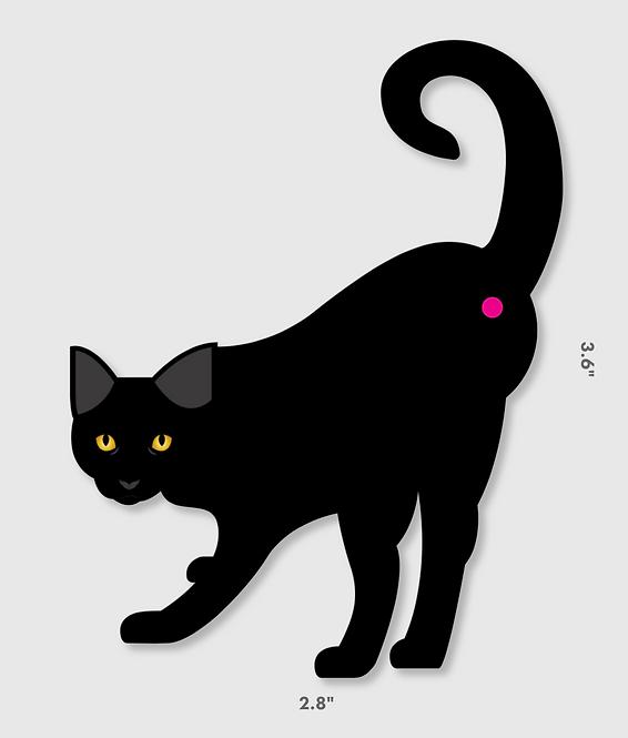 Cat Butt Decal