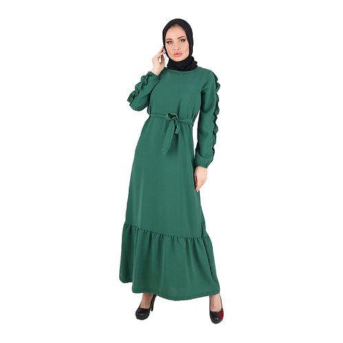 Fabienne Aerobin Fabric Long Tunic Dress For Women