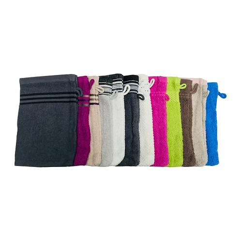 12 Piece Turkish Cotton Wash Clothes, Gloves Type Kitchen Cleaning towel