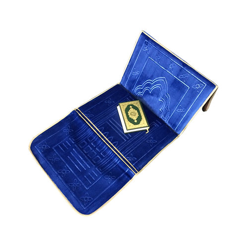 Fabienne 2 in 1 Foldable Prayer Mat and Backrest with Storage Pocket