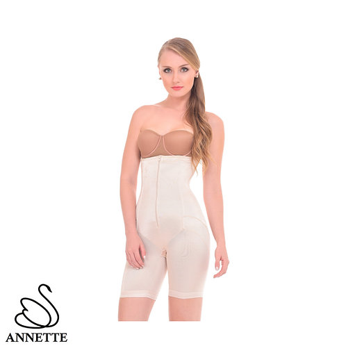 Annette Women's Extra Firm Control High Waist Long Leg Shaper -17422PK1
