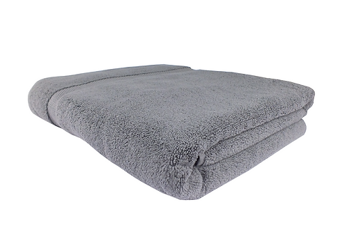 Turkish Cotton Bath Sheet 100x150cm -Grey