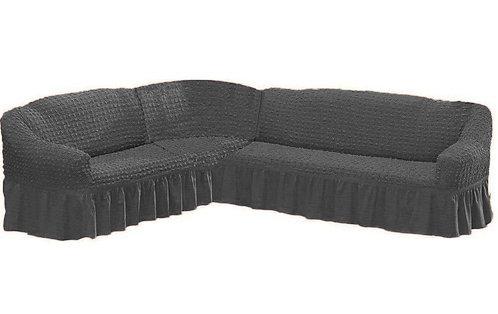 Fabienne L Shape Corner Sofa Cover 6 Seater  (4- 6 Meter)