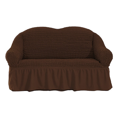 Fabienne Stretchable Sofa Cover Two Seater Free Size(Fits on Recliner also)