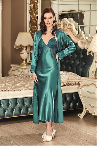 Nurteks Lingerie Long Night Dress With Robe