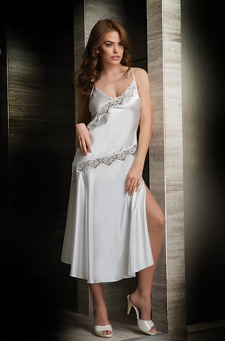Bondy Lingerie Long Night Dress For Women