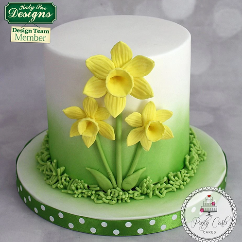 Daffodil Mother's Day Cake