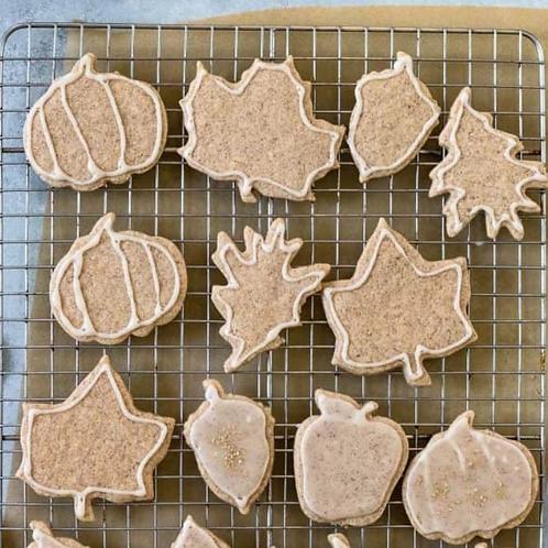 Autumn Cookie Painting Kit