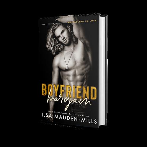 Boyfriend Bargain - Signed paperback