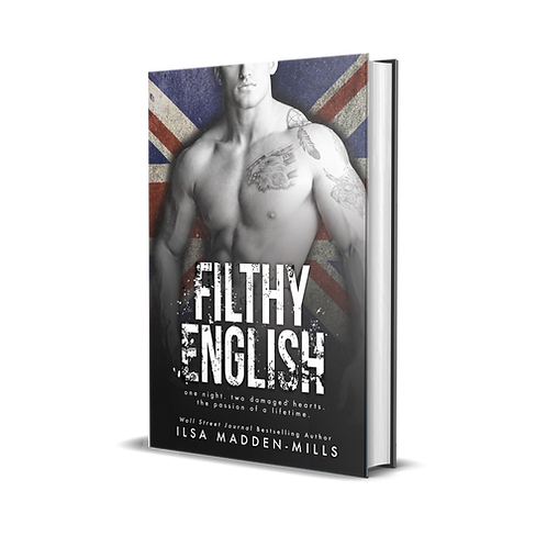 Filthy English - Signed Paperback - Cover A
