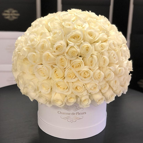 Deluxe large White Roses