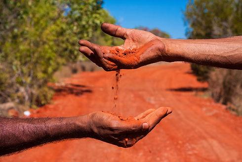 Aboriginal Australia a landscape build o