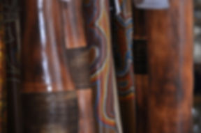 Australian handmade didgeridoo instrumen