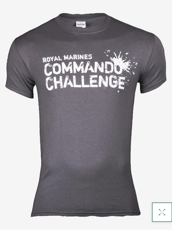 Commando Challenge T-Shirt - Charcoal