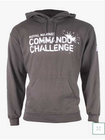 Commando Challenge Hoodie - Charcoal