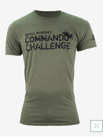 Commando Challenge T-Shirt - Military Green