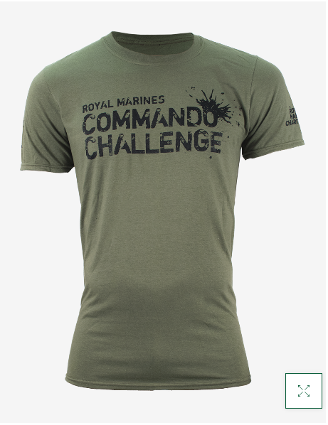Commando Challenge T-Shirt - Military Green