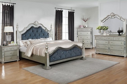 Sterling Bedroom Group-4pc qn with chest