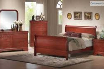 Louis Phillipe Bedroom Set-Cherry