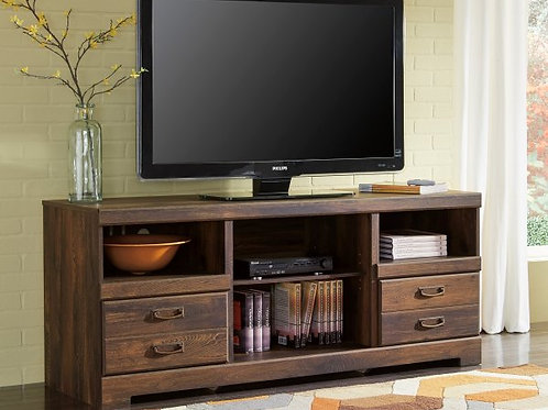 Quinden Tv Stand with Fireplace