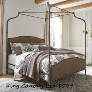 Ashley B616 King Canopy Bed