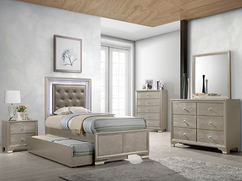 LYSSA TRUNDLE BED GROUP-TWIN