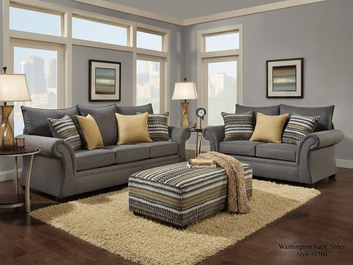 Jitterbug Collection-Sofa&Loveseat