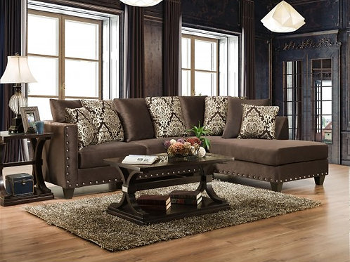 Chocolate Divinity Sectional