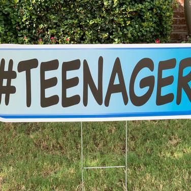 #TEENAGER