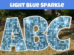 Light Blue Sparkle