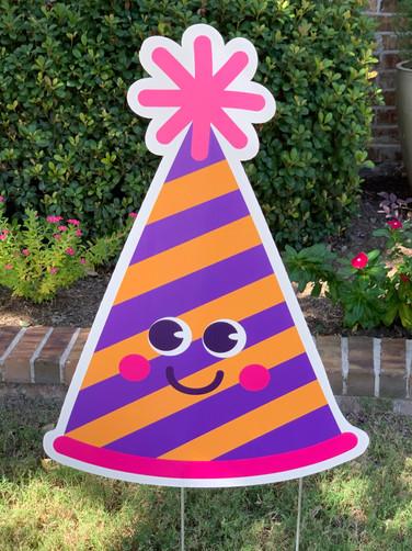 BIRTHDAY SMILES PARTY HAT 1