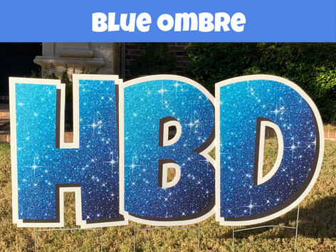 Blue Ombr