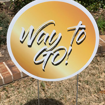 Way to Go! - Gold