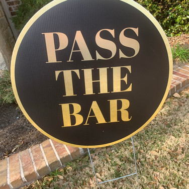 PASS THE BAR