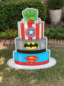 Super Tiered Cake