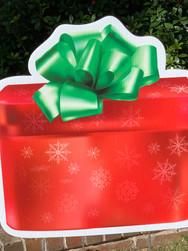 RED SNOWFLAKE GIFT BOX