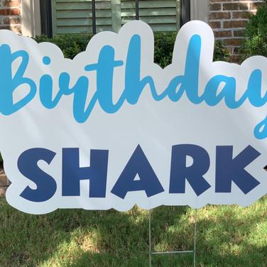 BIRTHDAY SHARK