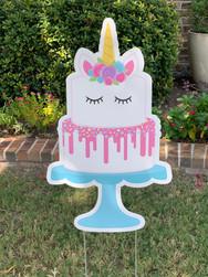 SMILING TIER CAKE