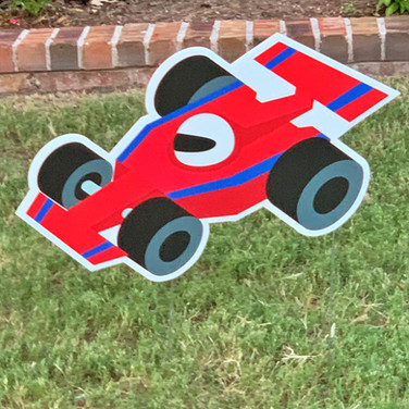 CARTOON RACE CAR