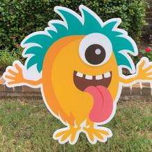Orange Monster 1