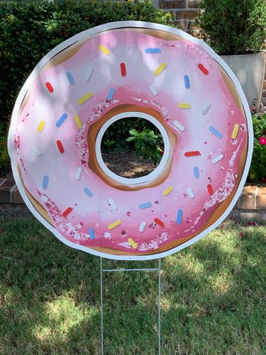 BIG PINK DONUT