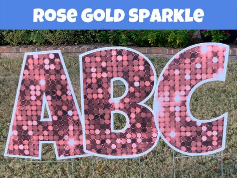 Rose Gold Sparkle