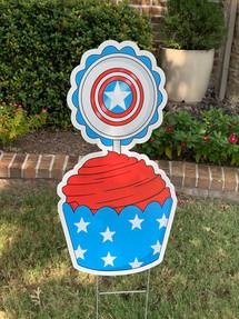 Captain A Cupcake