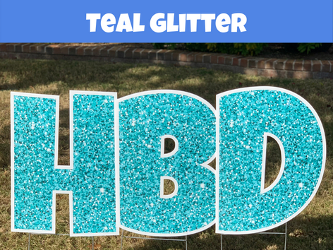 Teal Glitter