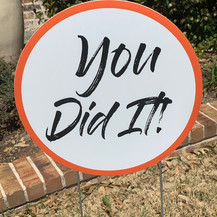 You Did It! - Orange