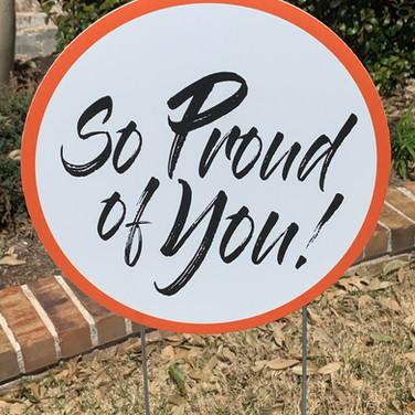 So Proud of You - Orange