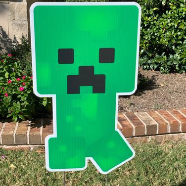 MINECRAFT GREEN THING.JPEG